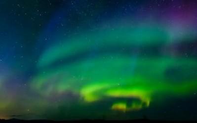 Auroras sobre Noruega
