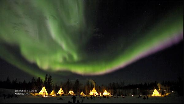 Auroras en tiempo real