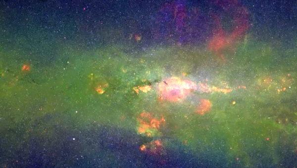 Flotando en la Via Láctea