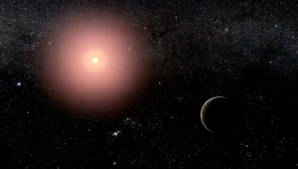 Un exoplaneta cercano