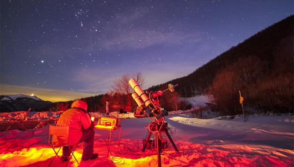 Telescopios al aire
